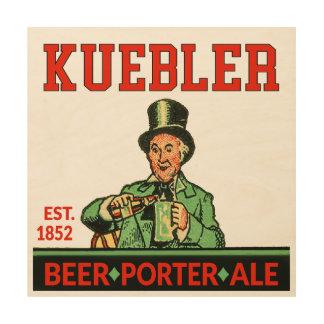Kuebler Porter Ale Wood Wall Art