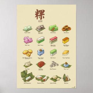 Kueh | 粿 I (A3) Poster