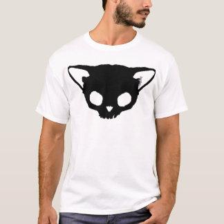 Kuginh™ Black Cat Skull T-Shirt