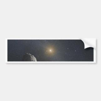 Kuiper Belt Object - Artists Concept Bumper Sticker