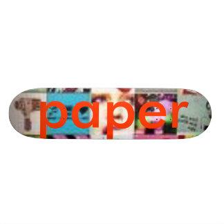 kuj, paper skateboard