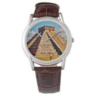Kukulkan Pyramid Wristwatch