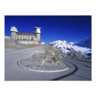 Kulm hotel and trail, Gornergrat, Zermatt, Photograph