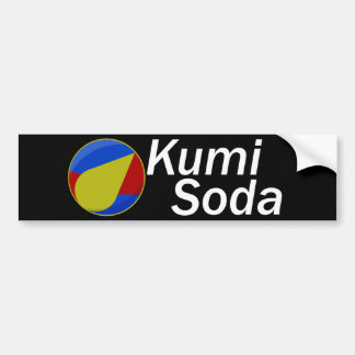Kumi Soda Full Logo Bumper Sticker