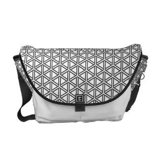 Kumikikkou Japanese Pattern Messenger Bag