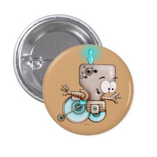 KUMO WHEEL CHAIR CUTE ALIEN ROBOT Button