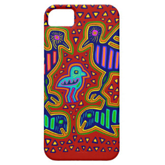 Kuna Indian Birds with Fish Barely There iPhone 5 Case
