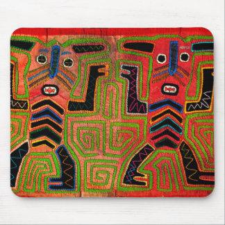 Kuna Indian Twin Spirits Mouse Pad