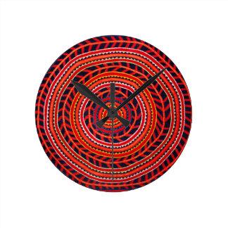 Kuna Tribal Universal Sun Wallclock