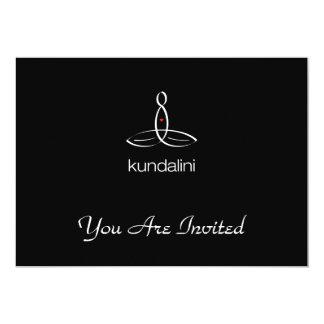 Kundalini - White Regular style 13 Cm X 18 Cm Invitation Card