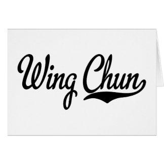 Kung Fu Card