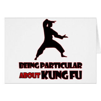 KUNG FU Designs Card