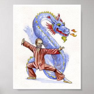 Kung Fu Dragon Poster