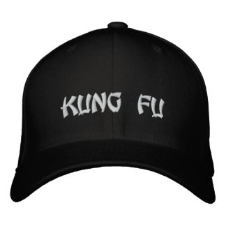 KUNG FU EMBROIDERED HAT