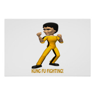 Kung Fu Fighting Print