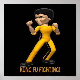 Kung Fu Fighting Print
