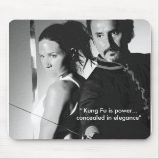 """"""" Kung Fu is power...conceale... Mouse Pad"""