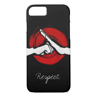 Kung Fu - Martial Arts salute iPhone 7 Case