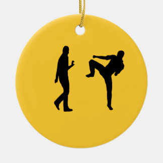 Kung Fu Ornament (Spin It)