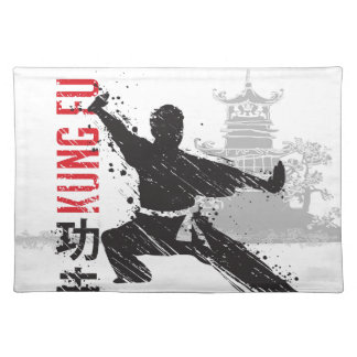 Kung Fu Placemat