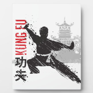 Kung Fu Plaque