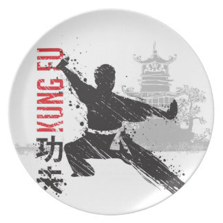 Kung Fu Plate