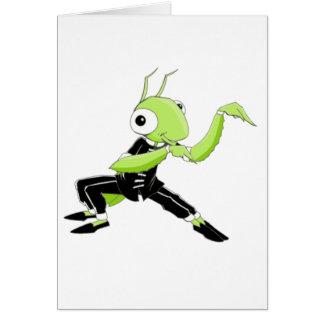 Kung Fu Praying Mantis Card