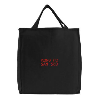 Kung Fu San Soo Embroidered Tote Bag