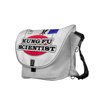 Kung Fu Scientist Courier Bag
