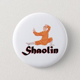 Kung Fu Shaolin 6 Cm Round Badge