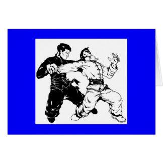 kung fu sweep card