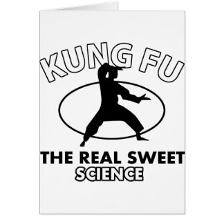 Kung Fu the real sweet science Card
