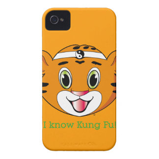 Kung Fu Tiger™ BlackBerry Bold Case-Mate iPhone 4 Cases