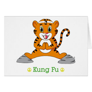 Kung Fu Tiger™ Greeting Cards