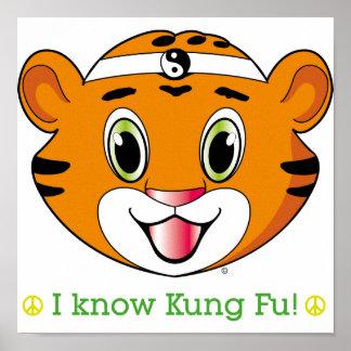 Kung Fu Tiger™ Prints Poster