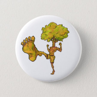 Kung Fu Tree 6 Cm Round Badge