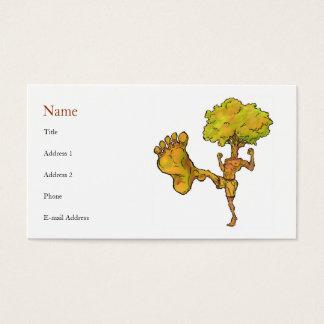 Kung Fu Tree Profile Card Template