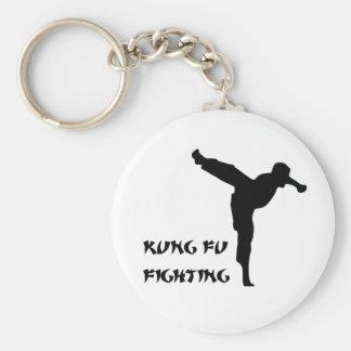 kungfulight2 basic round button key ring
