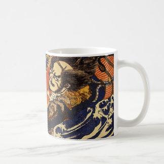 Kuniyoshi - Hanagami Mug