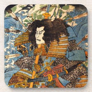 Kuniyoshi Samurai Coasters