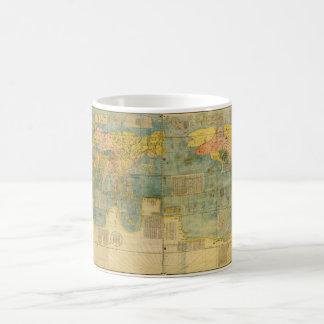 Kunyu Wanguo Quantu 1602 Japanese World Map Coffee Mug