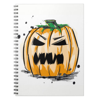 Kürbis Halloween Notebook