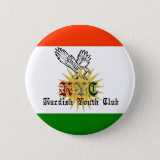 Kurdish Youth Club 6 Cm Round Badge