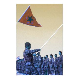 Kurdish YPG - YPJ Figters of Rojava Kurdistan 3.jp Stationery