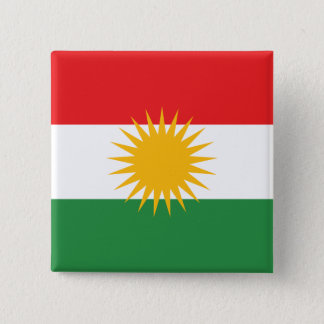 Kurdistan, Democratic Republic of the Congo 15 Cm Square Badge