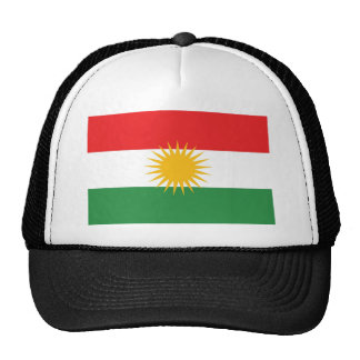 Kurdistan ethnic flag cap