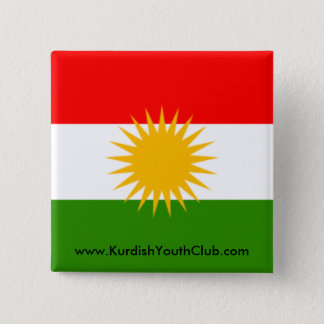 Kurdistan Flag Button