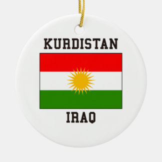Kurdistan Iraq Ceramic Ornament
