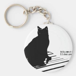 kuroaato Tokyo design cloa art tokyo design 2016 Basic Round Button Key Ring