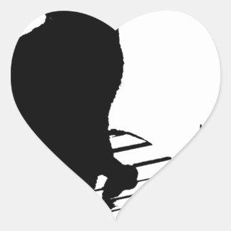 kuroaato Tokyo design cloa art tokyo design 2016 Heart Sticker